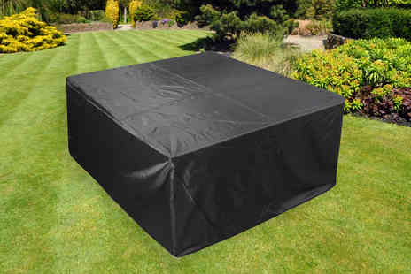 Wish Whoosh Offers - 120 x 120 x 74cm outdoor table cover - Save 73%