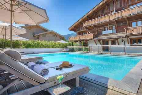 Hotel Les Loges Blanches Megeve - Authentic Alpine Chalet Stay in Chic Mountain Resort for two - Save 24%