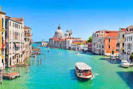 Hotel Bellini Venezia - Classic Elegance by the Grand Canal for two - Save 72%