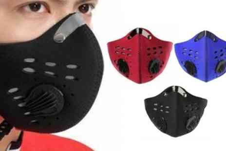 Groupon Goods Global GmbH - Sports Face Masks with Filter - Save 75%