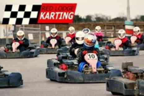 Red Lodge Karting - Outdoor Go Karting  Two 15 Minute Sessions - Save 63%