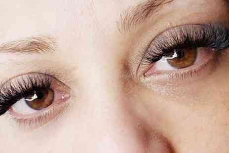 MF Lashed - Full Set of Natural or Volume Eyelash Extensions - Save 28%