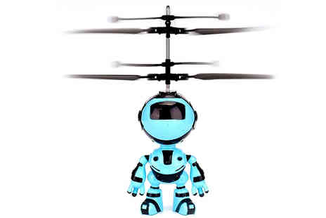Wish Whoosh Offers - USB Flying Infrared Induction Robot Toy - Save 70%