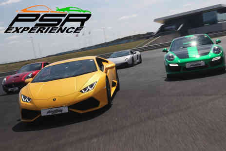 PSR Experience - Three lap supercar driving experience in a Lamborghini Gallardo LP560-4 - Save 0%