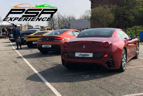 PSR Experience - Three lap supercar driving experience in a Ferrari California - Save 0%