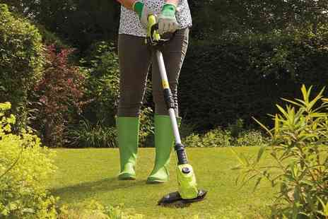 CJ Offers - 20V cordless grass trimmer - Save 49%