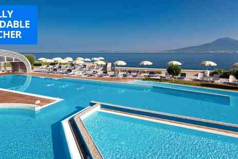Towers Hotel Stabiae Sorrento Coast - Deluxe Seven nights Gulf of Naples beachfront stay - Save 38%