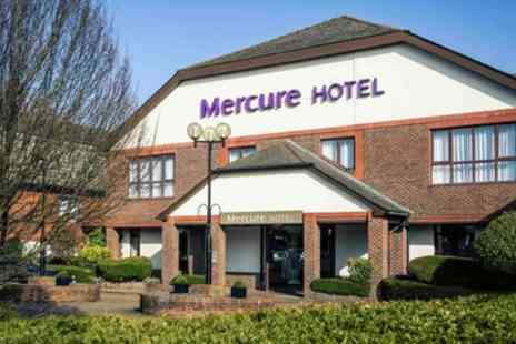 Mercure Dartford Brands Hatch Hotel and Spa - Classic Double Room for Two - Save 21%
