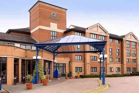 DoubleTree by Hilton Hotel Coventry - Queen Guest Room for Two - Save 9%