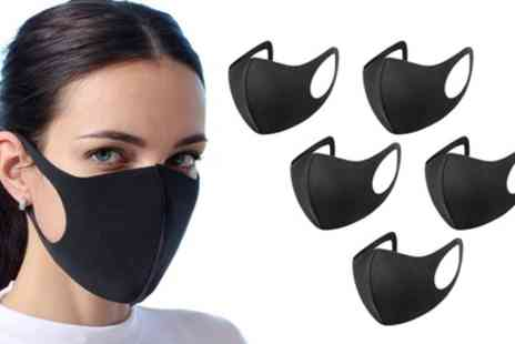 Groupon Goods Global GmbH - Up to 20 Reusable Face Masks - Save 0%