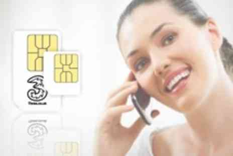 Retail Outlet - Pay As You Go SIM Card With 300 Minutes 3000 Texts and All You Can - Save 53%
