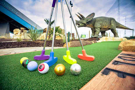 Trafford Golf Centre - Child ticket for 18 holes of Dino Falls Adventure Golf - Save 48%