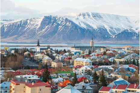 Weekender Breaks - Two nights Reykjavik, Iceland hotel stay with a Northern Lights tour - Save 29%