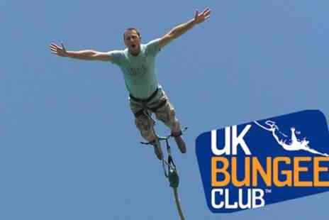 UK Bungee Club - Bungee Jump for One or Two - Save 0%