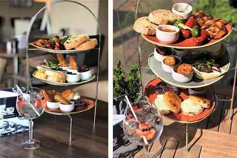 AC Hotel by Marriott Manchester Salford Quays - Spanish style afternoon tea and gin for two people - Save 0%
