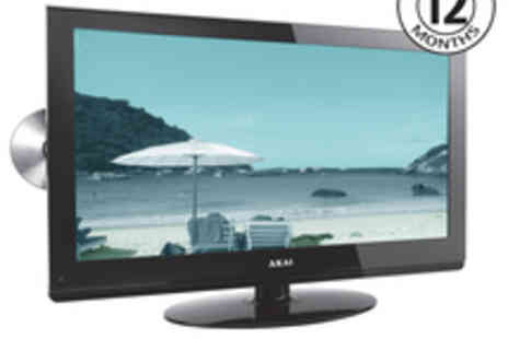 Akai - Off Akai 24 LCD TV With DVD Player - Save 52%
