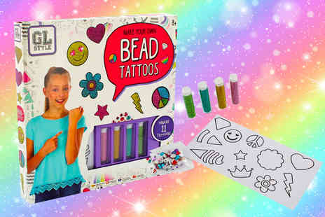 Vivo Mounts - Kids make your own bead tattoos set - Save 92%