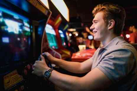 Vortex Gaming - One Hour Ticketless Arcade Gaming Experience with Bottomless Soda - Save 57%