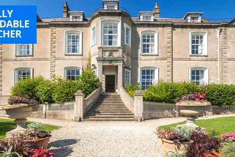 Combe Grove Manor Hotel - Two Nights countryside stay near Bath with meals & wine - Save 50%