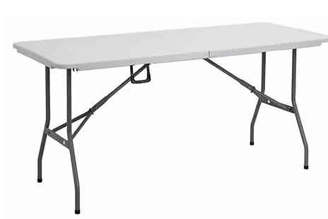 Direct 2 public - 6ft Folding Picnic Table - Save 63%
