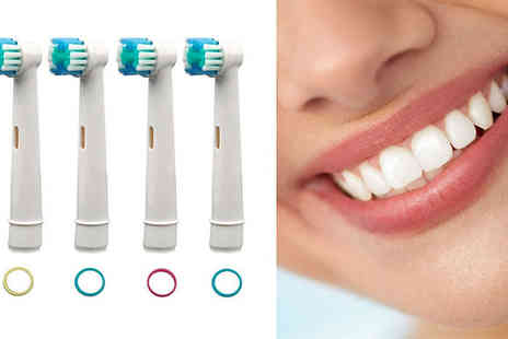 Forever Cosmetics - Oral B Compatible Toothbrush Heads - Save 60%