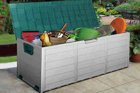 Direct 2 public - XL Heavy Duty Waterproof Outdoor Storage Box - Save 50%