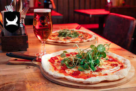 BrewDog - Pizza with a schooner of Headliner beer for one person - Save 0%