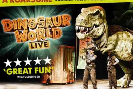 The Drive In at Troubadour Meridian Water - 42% Off tickets to see Dinosaur World Live - Save 42%