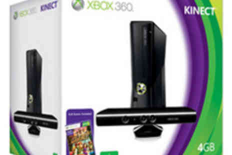 Zappi Deals - Xbox 360 4GB Console, Kinect Sensor and Kinect Adventures - Save 25%