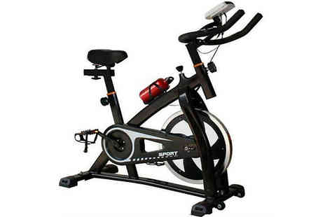 Direct 2 public - 18kg Flywheel Indoor Exercise Bike - Save 54%
