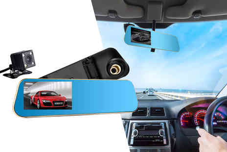 YelloGoods - Next gen car mirror dash cam - Save 0%