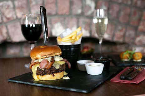 Signature Steakhouse - Burger and cocktail each for two people - Save 66%