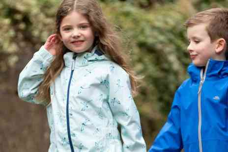 Secret Sales - Trespass Kidswear Raincoats, Fleeces, Shorts and more - Save 65%