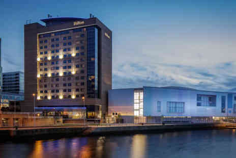 Hilton Belfast - An overnight hotel stay at the Hilton Belfast for two in a junior suite with breakfast - Save 46%