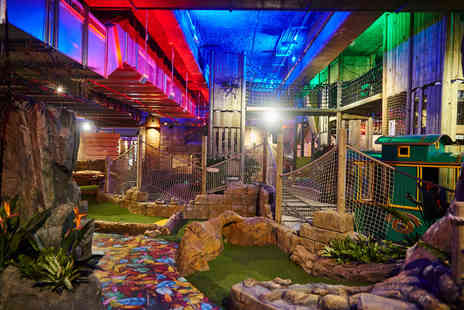 Amazonia - Crazy golf entry for two people - Save 36%