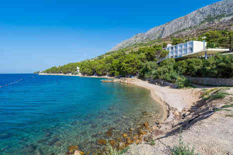 Weekender Breaks - An all inclusive Lokva Rogoznica, Croatia beach hotel stay in a sea view room with return flights - Save 21%