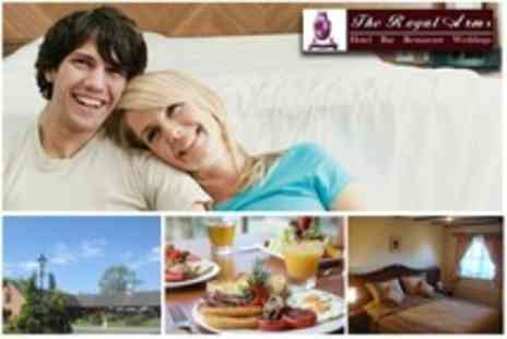 The Royal Arms - One Night Stay For Two With Sparkling Wine and Breakfast - Save 68%