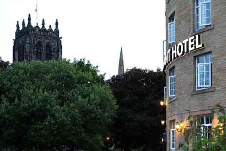 Wool Merchant Hotel - A Halifax stay for two people with breakfast, dinner on one night and a glass of wine - Save 47%