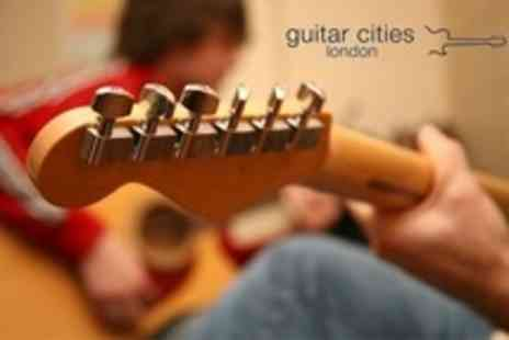 Guitar Cities - Guitar Tuition Two Private Lessons - Save 56%