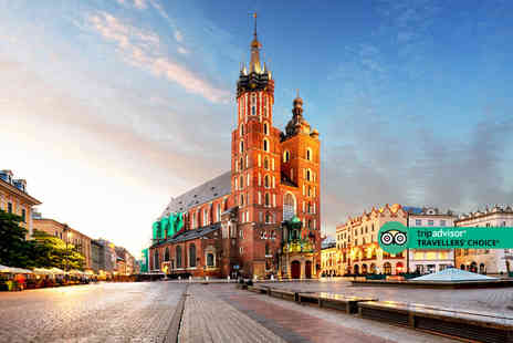 Bargain Late Holidays - A central Krakow, Poland apartment stay and return flights - Save 52%