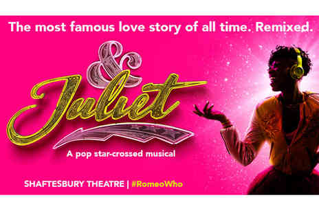 Just Book Sports - A London hotel stay with & Juliet theatre tickets - Save 0%