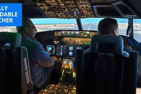 The 737 Experience - Flight simulator experience near Newcastle - Save 43%