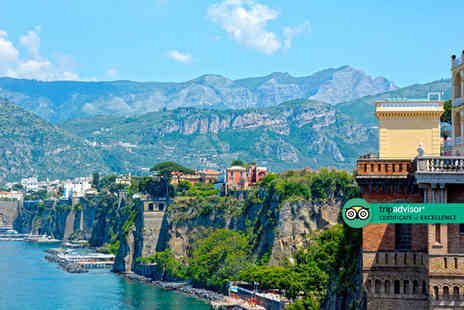 Crystal Travel - A Sorrento, Italy hotel stay with breakfast and return flights - Save 37%