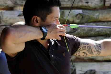 GTS Adventure - Archery and Air Rifle Session for Up to Four - Save 60%