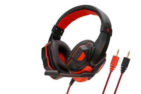Arther Gold - Gaming headset in black - Save 58%