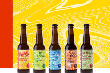 WooHa Brewing Company - Wee Taste Of The Highlands beer hamper including 12 bottles - Save 35%