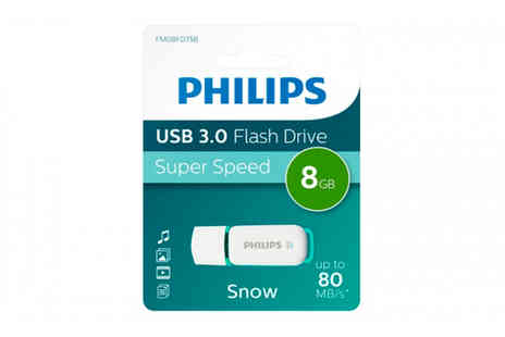 Avant Garde Brands - Phillips Snow Edition USB 8GB flash drive - Save 0%