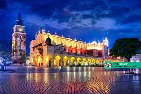 Weekender Breaks - A Krakow, Poland stay with shared shuttle transfers and return flights - Save 29%
