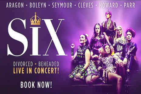 Just Book Sports - A London hotel stay with Six The Musical theatre tickets - Save 0%