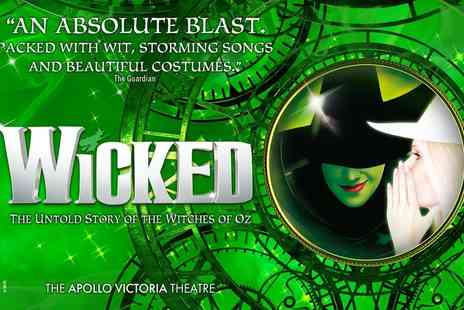 OMGhotels - A London hotel stay with breakfast and Wicked The Musical ticket - Save 0%
